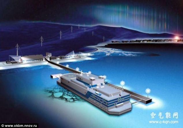 俄罗斯将于三年后使用世界上首座海上浮动核电站